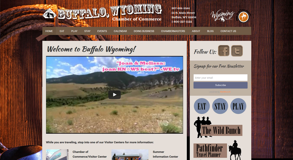 Buffalo Wyoming Chamber of Commerce