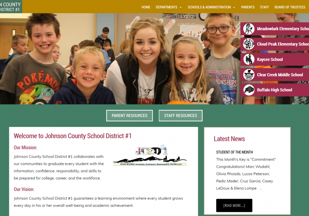 Johnson County Wyoming School District #1